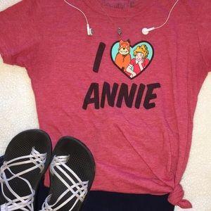 """Tops - """"Annie"""" The Musical T-Shirt"""